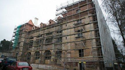 Pristatytas Sapiegų rūmų restauravimo projektas