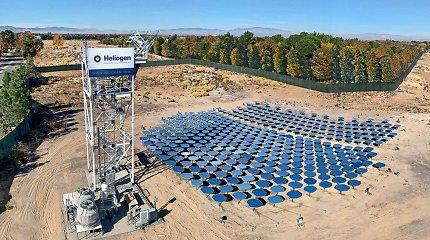 Žaidimo taisykles keičiančios Saulės energijos jėgainės galės gaminti vandenilį kurui