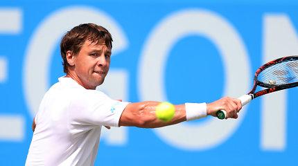 Ričardas Berankis ATP reitinge prarado tris pozicijas