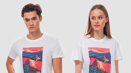Sukūrė marškinėlius, raginančius kalbėtis apie jausmus