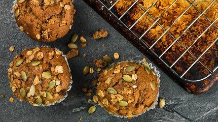 Užkandžiai vaikams iš rudens gėrybių: nuo morkų keksiukų iki moliūgų humuso