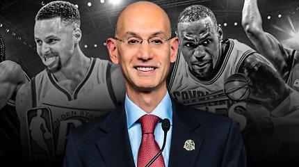 """NBA žaidėjų per """"langus"""" nepaleidžia, bet A.Silveris pritaria FIBA sistemai"""