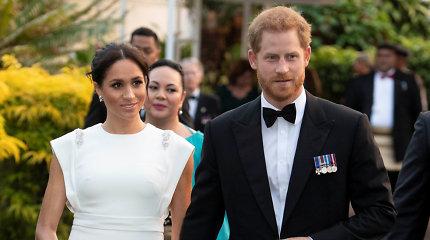 Princas Harry ir Meghan Markle susitikime su Tongos karaliumi