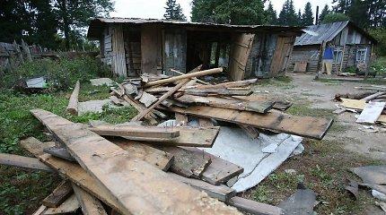 Vilniaus romų bendruomenė ieško užtarėjų Seime – prašo negriauti taboro namų