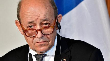 Prancūzija: JAV sankcijos Iranui gali sukelti didesnį pavojų regionui
