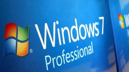 """""""Windows 7"""" sistemos taps kibernetinių nusikaltėlių taikiniu Nr. 1"""