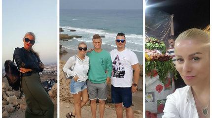 """Su šeima Maroke atostogavusią Vaidą Genytę nustebino kainos: """"Parsivežėme daug gėrybių"""""""