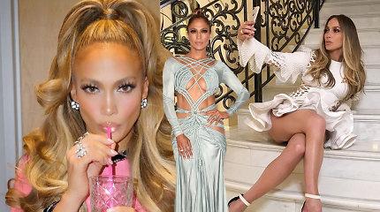 Jennifer Lopez grožio triukai: kaip būnant 48-erių atrodyti it 28-erių
