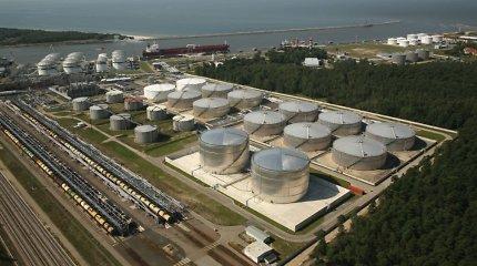 """Prasidės """"Klaipėdos naftos"""" terminalo krantinių rekonstrukcija"""