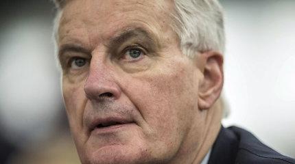"""ES įsteigėM.Barnier vadovaujamą komandą ryšiams su JK po """"Brexit"""""""