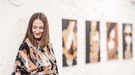 """Sūnų autistą auginanti Jūratė atrado tapybą: """"Ji mano gyvenime buvo tarsi sprogimas"""""""