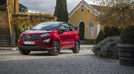 """""""Ford"""" fiksuoja rekordą: nauji SUV automobiliai užkariauja rinką"""