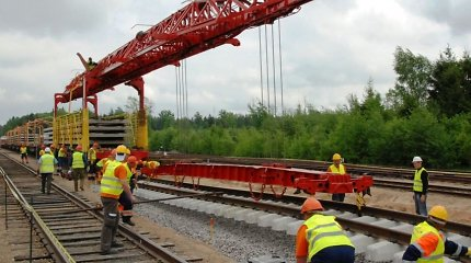 """Estijoje patvirtinti """"Rail Baltica"""" projekto apskričių planai"""