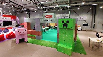 """Realaus dydžio """"Minecraft"""" namas – per 70 valandų pastatytas iš 200 dėžių"""