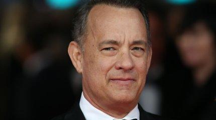 Testas: ar pažinsite bent 9 iš šių 12-os filmų, kuriuose vaidino Tomas Hanksas?