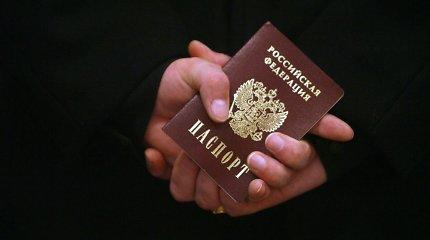 Lietuva siekia, kad rusiški Rytų Ukrainos gyventojų pasai būtų nepripažįstami ES mastu