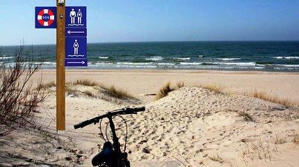 Nidos paplūdimyje bus statoma nauja gelbėjimo stotis