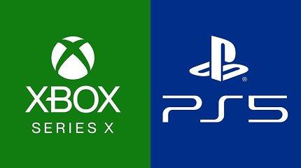 """""""PlayStation 5"""" ir """"Xbox Series X"""" prekybos pradžia – be prekybos: įsigyti nebeįmanoma"""