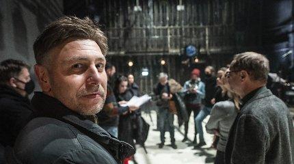 """Baltarusijai palaikyti skirto spektaklio dramaturgas M.Ivaškevičius: """"Į jų skausmą žvelgiame iš savo sotaus gyvenimo pozicijų"""""""