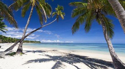 Prie Fidžio įvyko stiprus žemės drebėjimas, cunamio pavojus neskelbiamas