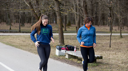 Noriu bėgti: pirmoje treniruotėje mušė prakaitas ir nenorėjo klausyti kojos