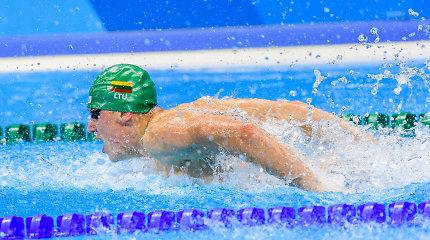 Europos čempionate Lietuvos plaukikai strigo atrankiniuose plaukimuose