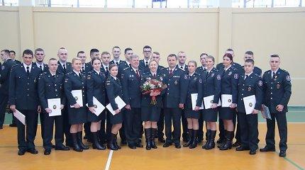 VSAT gretose – 75 jauni pareigūnai, sėkmingai baigę pasieniečių mokyklą