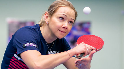 Olimpinėje atrankoje Lietuvos stalo tenisininkės patyrė pralaimėjimus