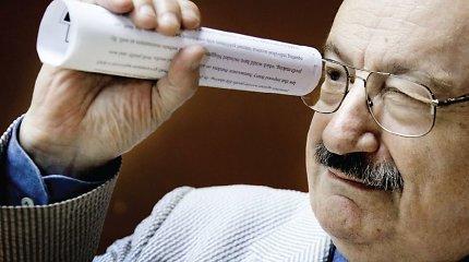 Rašytojas Umberto Eco: Niekas iki šiol nepateikė laimės apibrėžimo