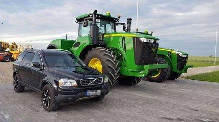 """Gediminas Juodeika parduoda visureigį """"Volvo XC90"""""""