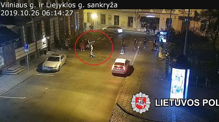Vilniuje prie naktinio klubo 10 užpuolikų mušė vieną jauną vyrą
