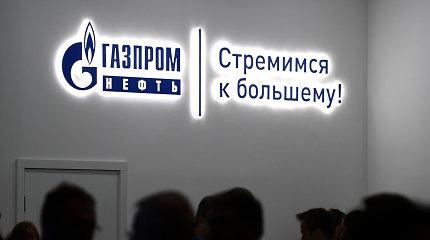 """""""Gazprom"""" pelnas pernai sumenko iki 23 mlrd. JAV dolerių"""