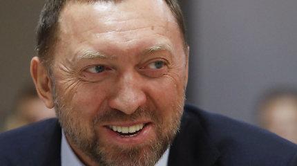 JAV atšaukė sankcijas su rusų oligarchu O.Deripaska susijusioms įmonėms