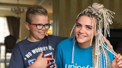 UNICEF vaikų bėgimo ambasadorių gretose – Airinė Palšytė, Marija Grabštaitė ir Tomas Kaukėnas