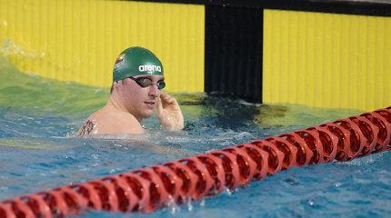 Nesėkmingas trečiadienis: Lietuvos plaukikai neišplaukė į tolimesnius etapus