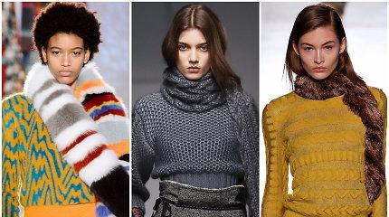 Šaltasis sezonas (6): kokius šalikus rinktis šį rudenį ir žiemą?