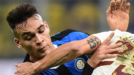 "Nutrūko ""Inter"" pergalių serija"