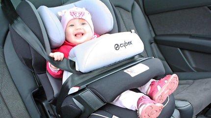 Kaip pasirinkti vaikišką kėdutę, kad kelionė automobiliu būtų saugi