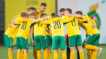 Lietuvos futbolininkai žais draugiškas rungtynes Kazachstane