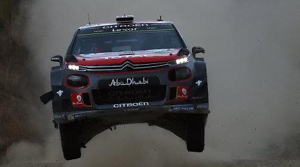 WRC: S.Ogier klaida – tik smulkmena, palyginus su K.Meeke'o viražais
