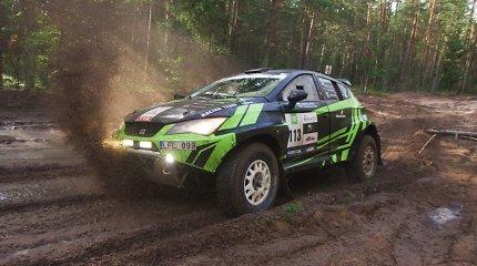 """""""Tavisa Racing Team"""" į lenktynes Sacharoje vyksta su Lietuvoje kurtu automobiliu"""