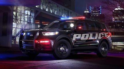 """""""Ford"""" pasirūpino policininkų apsauga – virusus automobiliuose naikins unikaliu būdu"""