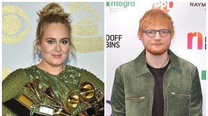 Iš Adele titulą atėmęs hitų kūrėjas Edas Sheeranas – turtingiausia jaunoji britų žvaigždė