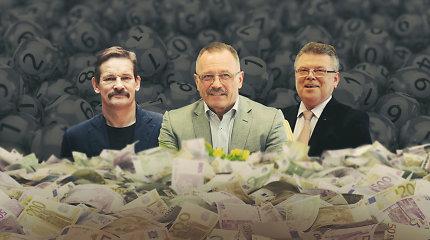 """Olimpinį sportą remti privalanti loterija milijonais """"parėmė"""" ir du verslininkus"""