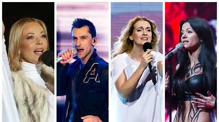 """""""Eurovizijos"""" istorija 1999–2017: kas galėjo atstovauti Lietuvai, bet liko antri"""