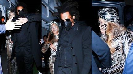 """Be rūpesčių atšvęsti istorinę pergalę """"Grammy"""" apdovanojimuose Beyonce trukdė neapgalvotas įvaizdis"""