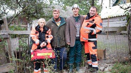 """Tadas Vidmantas pasitaškė kraujais ir sukūrė serialą """"Medikai paramedikai"""""""