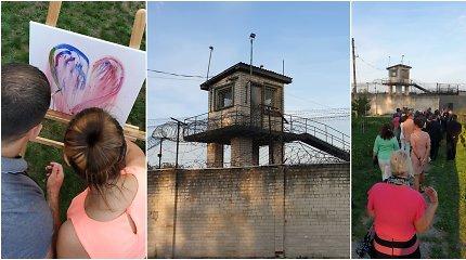 Pravieniškėse – šventė kaliniams: muzika, tapyba ir vakaronė su šeima prie laužo