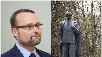 Kultūros ministras kviečia neskubėti spręsti dėl P.Cvirkos paminklo