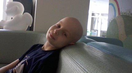 Gyvenimas ant tiksinčios bombos: Devidui vėžys diagnozuotas tik dėl mamos atkaklumo